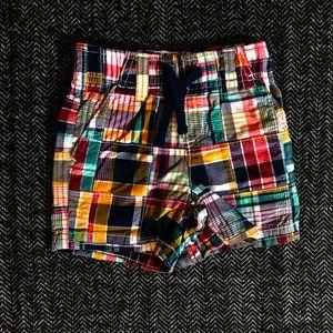 5 for $20. Gymboree plaid shorts size 6-12m